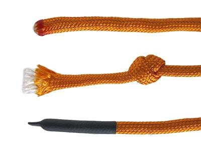 3 spôsoby ako zabrániť rozplietaniu lana