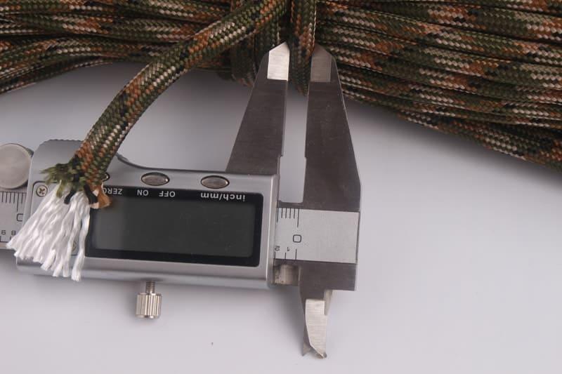 5mm hrubé lano pre magnet fishing kamufláž