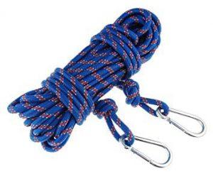 Pružné horolezecké lano nevhodné pre magnet fishing