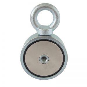 Obojstranný magnet s okom na lano so silou 310 kg