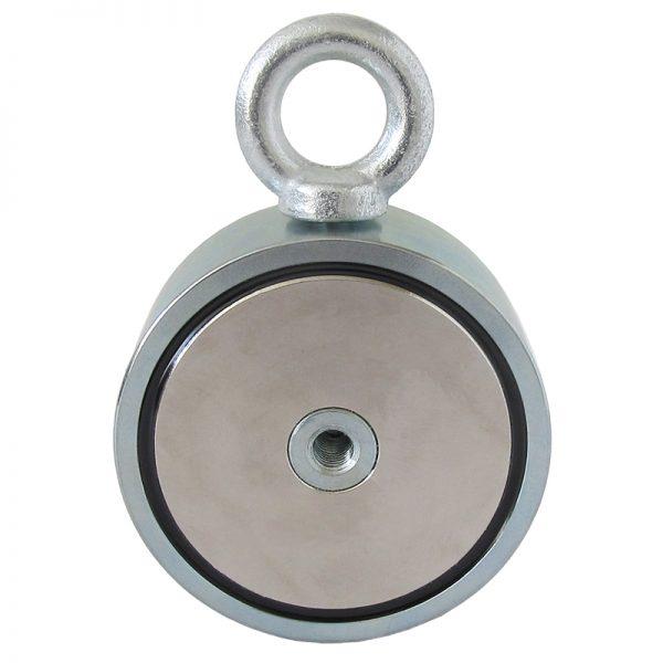 Obojstranný magnet na hľadanie železných predmetov vo vode - sila 2x500 kg