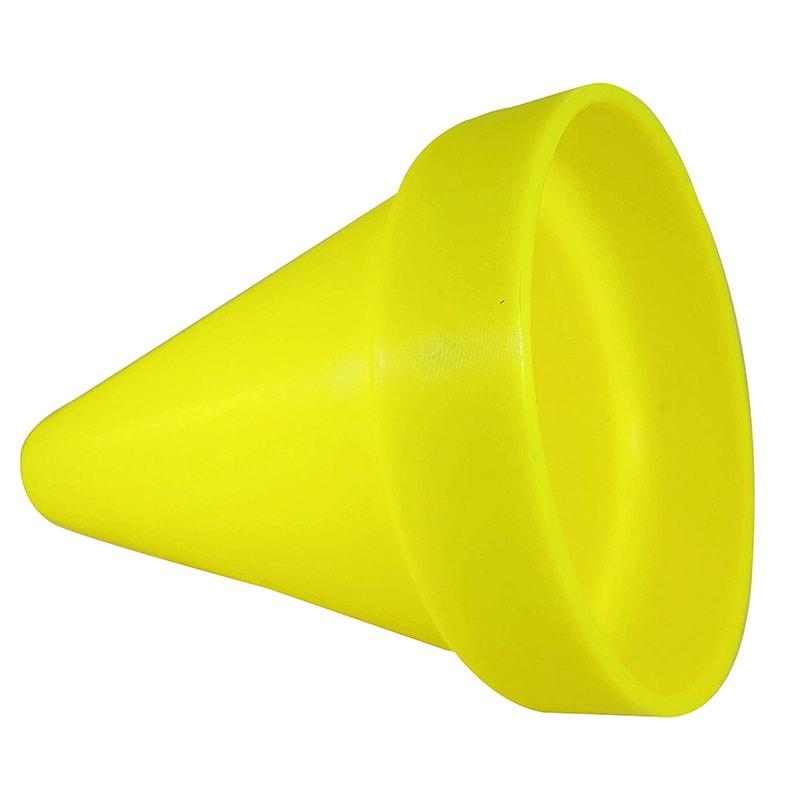kužeľ na magnet žltý