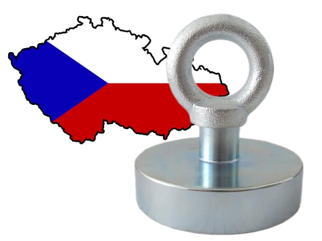magnet fishing v Česku