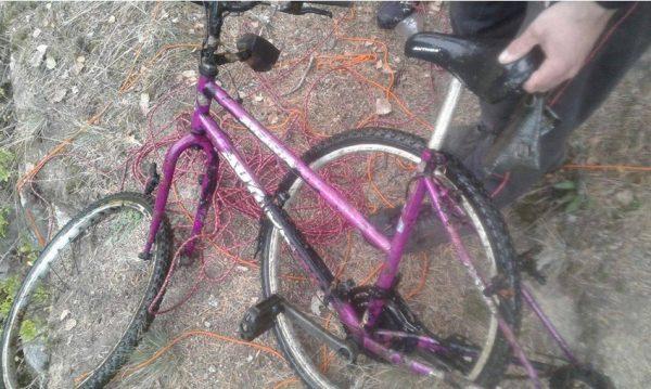 Český nález bicykla z okolia Pardubíc