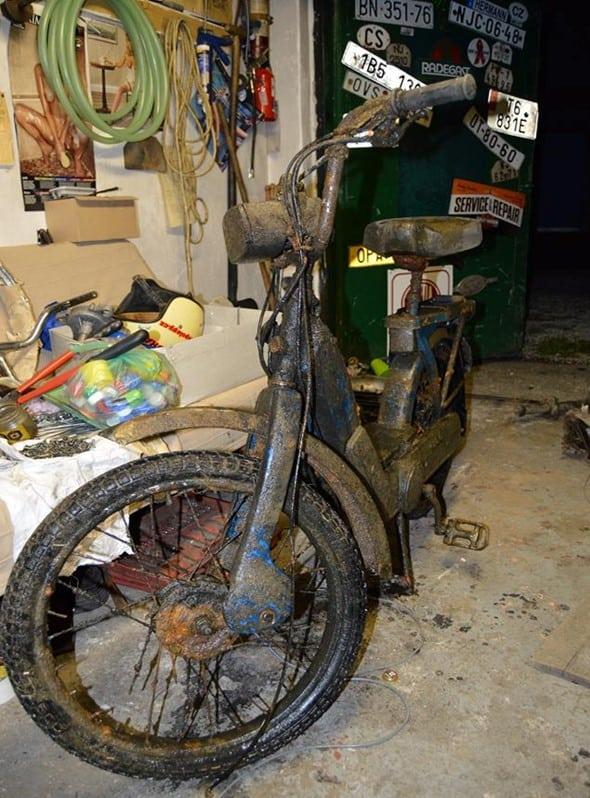 motorka najdena pomocou slabsieho magnetu
