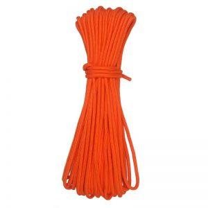 30 metrov dlhé oranžové lano 560kg