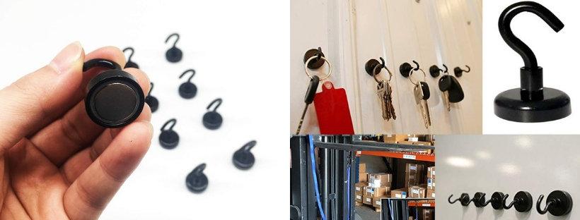 drobné magnetické háčiky