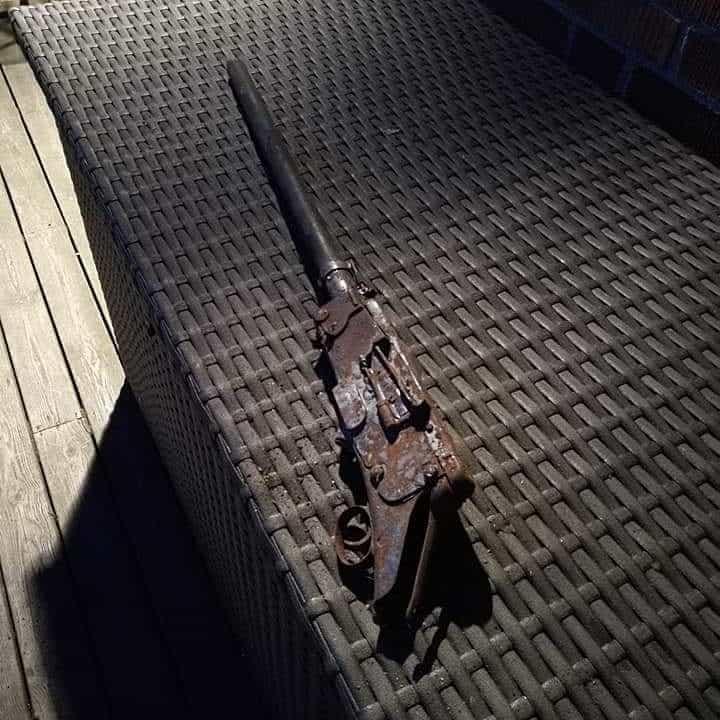 Rozpadnutá puška