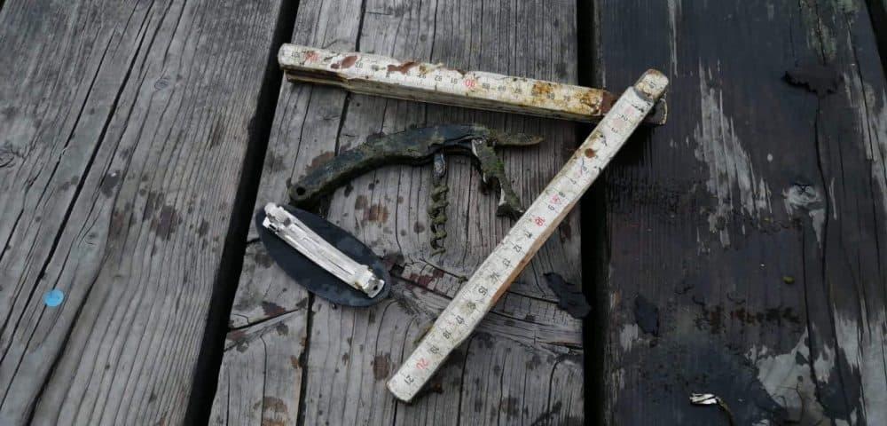 Vreckový nožík a dva metre zo Švajčiarska