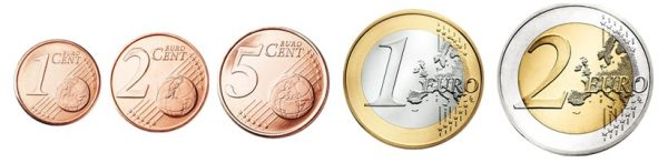 Magnetické euro mince