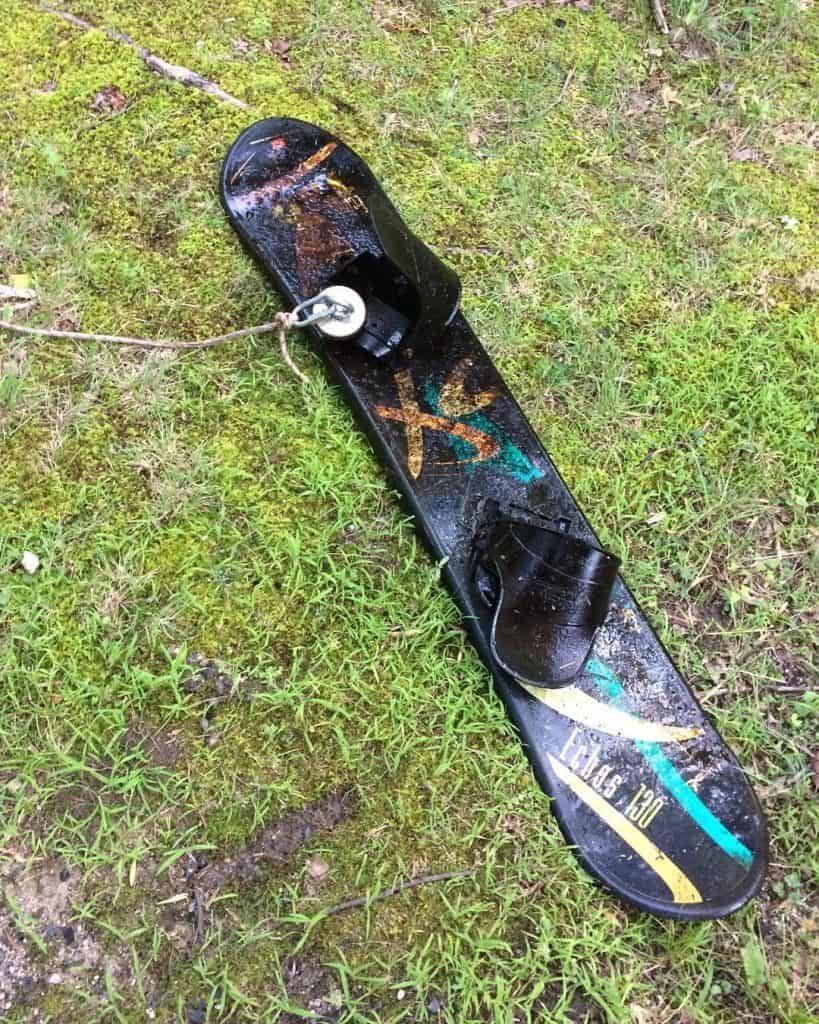 Nález snowboardu