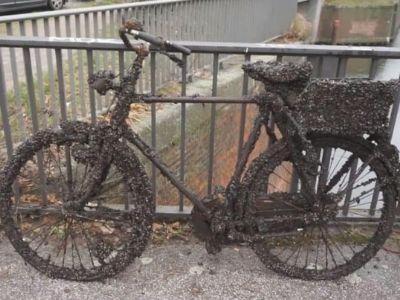 bicykel nájdený magnetom