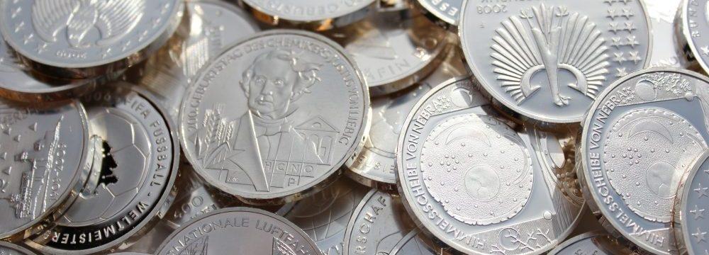 Strieborné mince