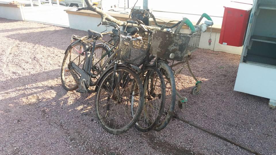 Tri bicykle nájdené na jednom love