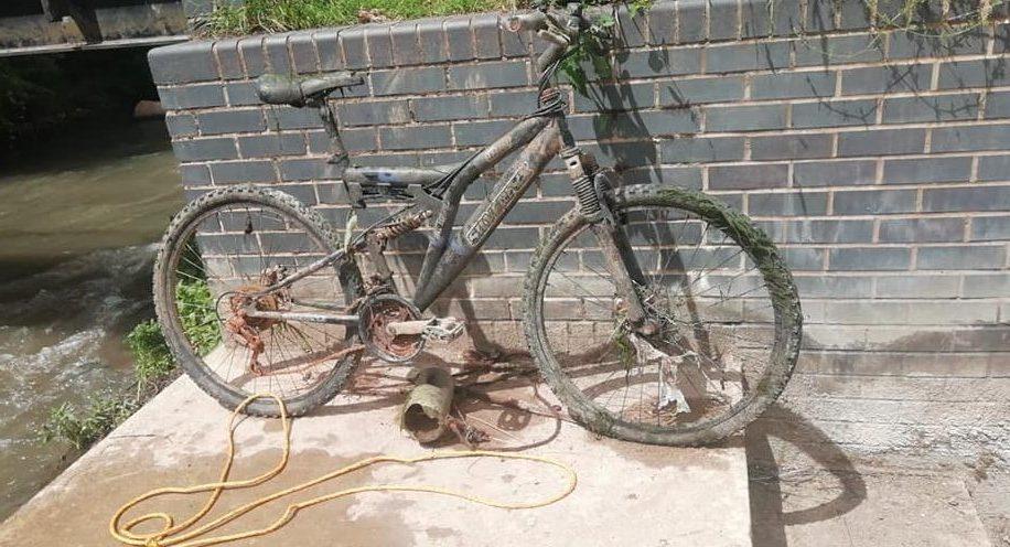 Parádny magnetický nález športového bicykla