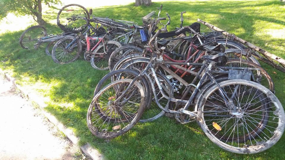 Najväčší počet úlovkov bicyklov, aký sme kedy videli