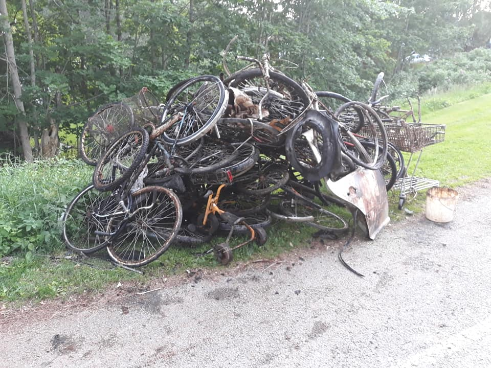 Šialený úlovok bicyklov