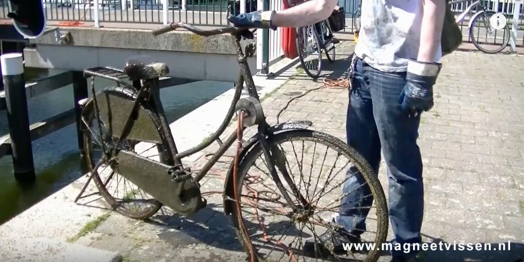 Úlovok bicykla s Nórska