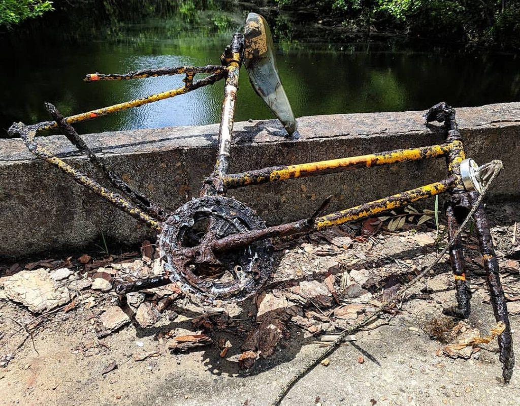 Kostra z bicykla
