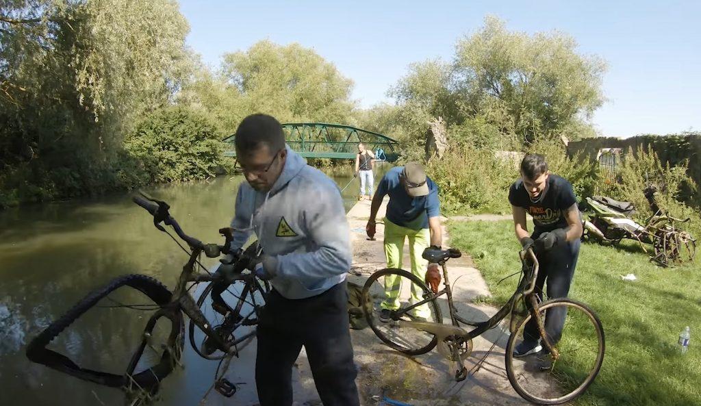 Bicykle objavené magnetom