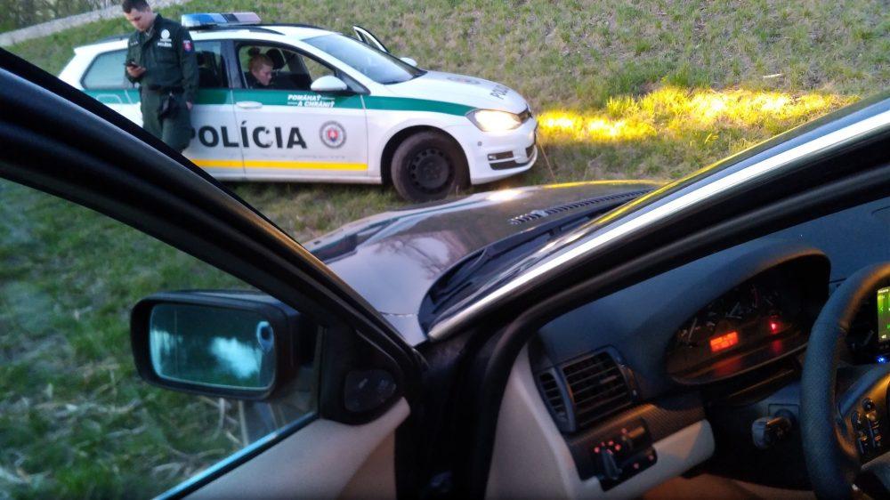 Slovenská polícia na magnet fishingu