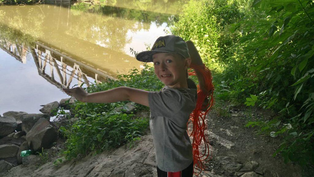 Slavomírov syn na magnet fishingu