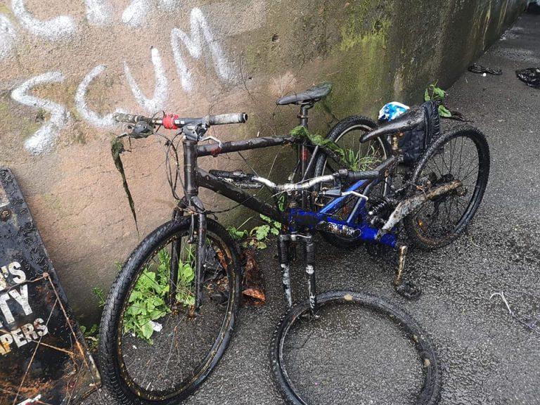 nálezy bicyklov