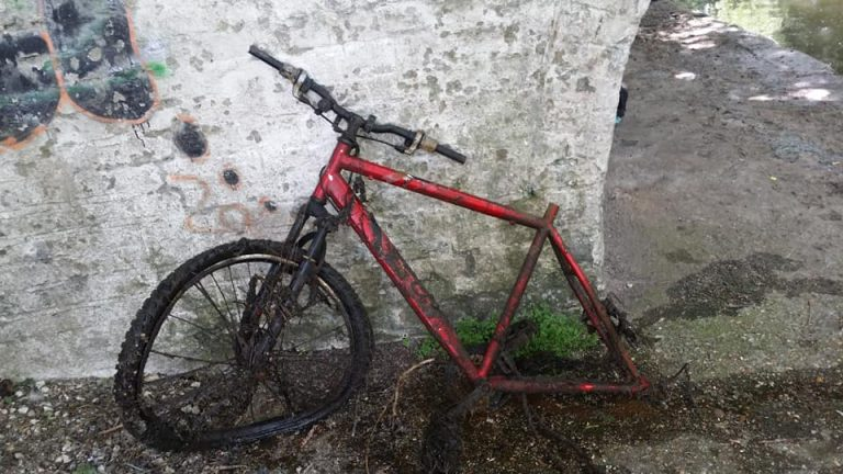 pozostatok bicykla