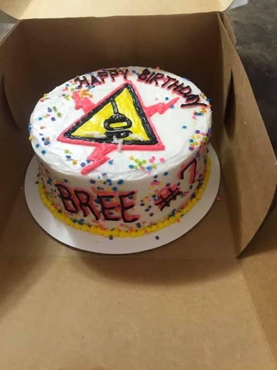 Magnetová torta z 7. narodeninám