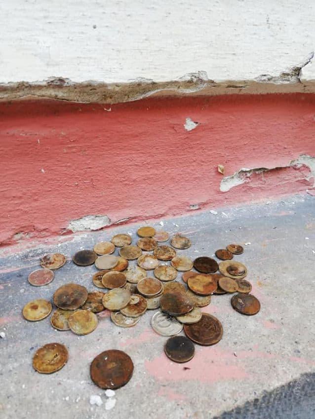 Úlovok mincí