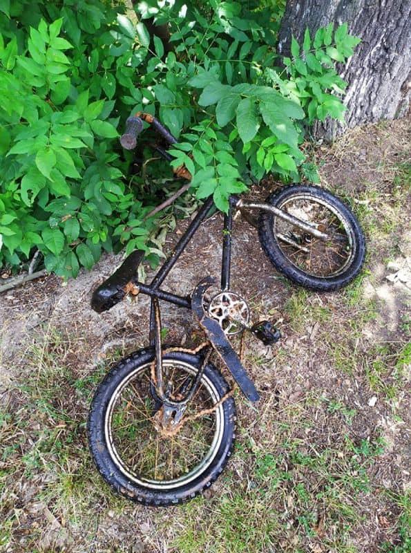 Nález bicykla z Česka