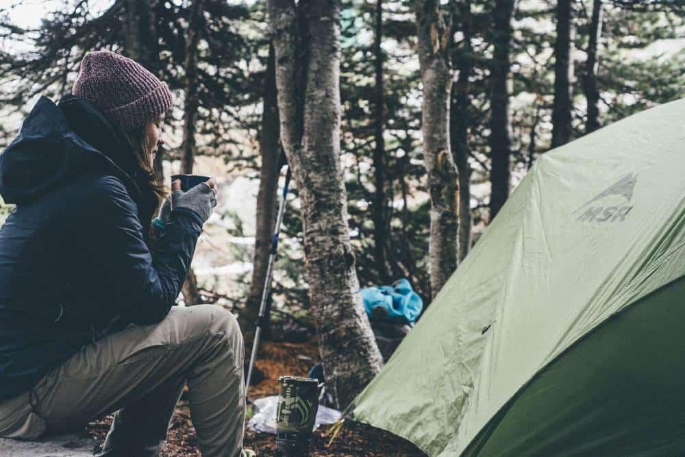 Stanovačka v lese