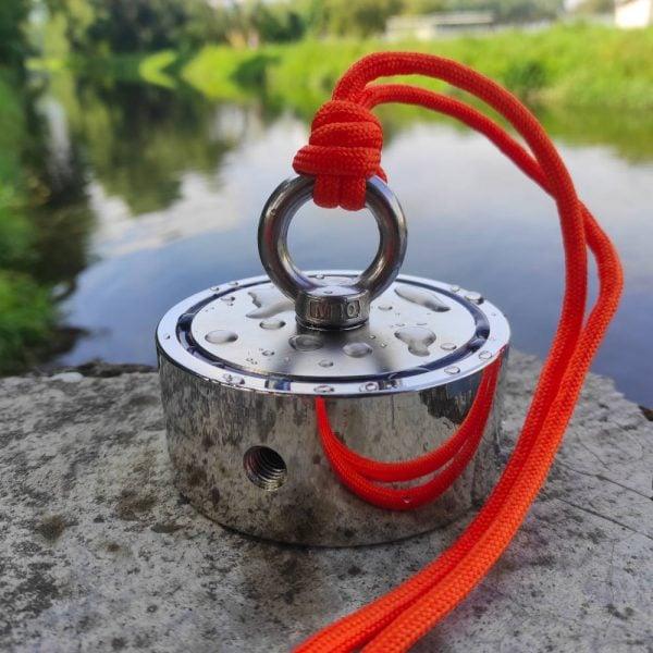 Fishing magnet 500 kg obojstranný